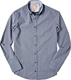 BOSS Orange Herren Hemd EdipoE Oberhemd, Größe: L, Farbe: Blau