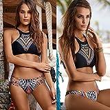 QPLA@Bikini Bademode Anzug multicolor,Bildfarbe,M