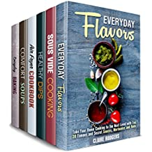 Everyday Cookbook Box Set (6 in 1) : Over 190 Easy and Creative Flavors, Sous Vide, Air Fryer, Soup, Dip Recipes and Baked Treats for Everyday Cooking (Quick & Easy Cooking 2) (English Edition)