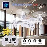 Goolsky modalità 1 Cheerson CX-10A 2.4GHz 4CH RC Quadcopter NANO Drone UFO con funzione modalità senza testa