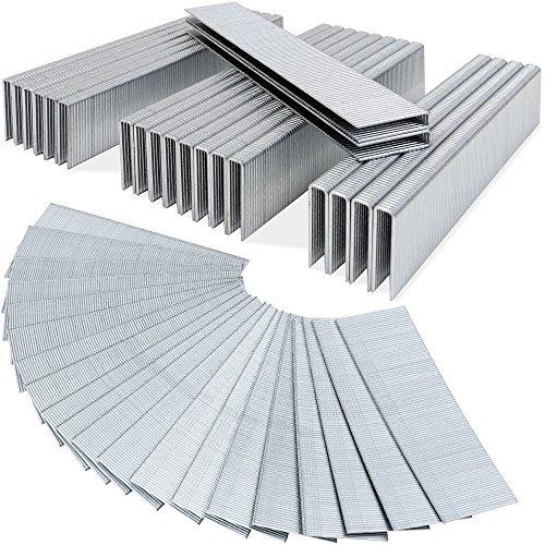 5000 Druckluft Tackerklammern Tackernägel AUSWAHL 12- 50mm / Nägel 40mm