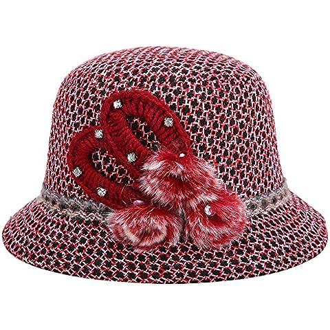 Ladies' maglia moda cappelli di lana cappello ,