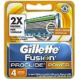 Ancienne Version Gillette Fusion ProGlide Power Lames de Rasoir Pack de 4