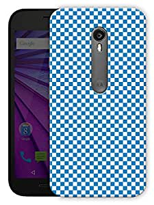"""Humor Gang Checkered Life Chess Board Blue Printed Designer Mobile Back Cover For """"Motorola Moto X Style"""" (3D, Matte Finish, Premium Quality, Protective Snap On Slim Hard Phone Case, Multi Color)"""