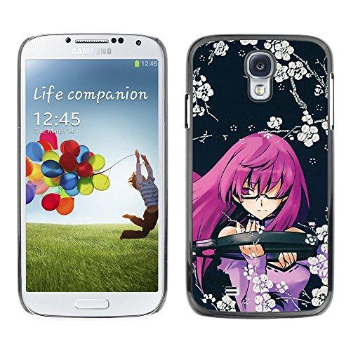 Bild Hartschalenkoffer PC Schutzhülle Hard Case Protective Cover for Samsung Galaxy S4 / niedlichen japanischen Cartoon-Mädchen- / (Niedlichen Kinder Halloween Bilder)