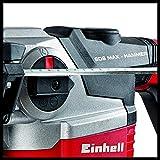 Einhell Bohrhammer TE-RH 38 E (1050 W, 9 J, Bohrleistung Ø 38 mm, SDS-Max-Aufnahme, Metall-Tiefenanschlag, Virbrationsdämpfung mit Andruckanzeige, Koffer) Vergleich