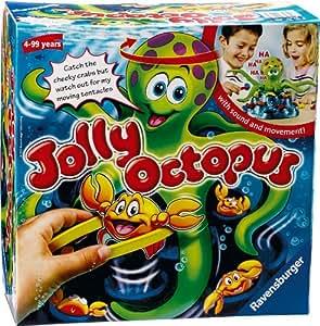 Ravensburger – Jolly Octopus – Jeu de Société – Tenta Poulpe (Version Anglaise)
