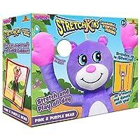 Stretchkins STR-PPBEA Pink and Purple Bear