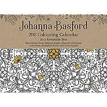 Official Johanna Basford 2018 Colouring Day-to-Day Calendar