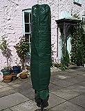 Garden Mile Jumbo Grande housse pour parasol 195cm x 45cm, jardin Protecteur Housse parapluie, imperméable rotatif Airer Housse