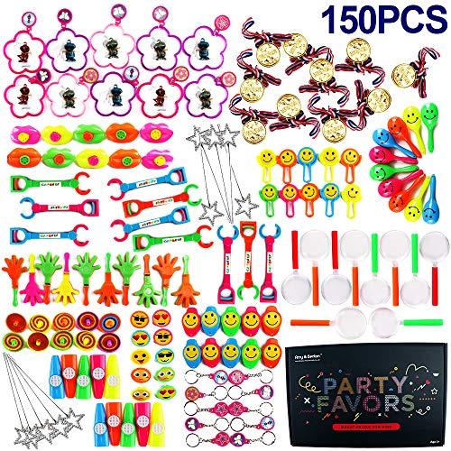 Amy&benton 150 di giocattoli per bambini, bomboniere per feste forniture ragazza ragazzo regalo di compleanno borse bambini premio scuola di carnevale, articoli per feste e compleanni per bambini