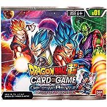 "Bandai BCLDBBO7092""Dragonball super Galactic Battle booster display card Game"