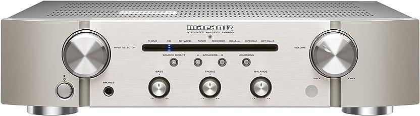 Marantz PM6006/N1SG Verstärker (2x 60 Watt, DAC-Modus) silbergold