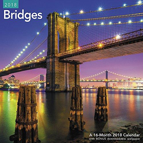 2018 Bridges Wall Calendar (Mead)