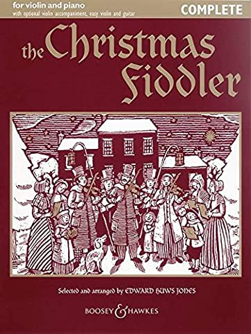 The Christmas Fiddler: Christmas Music from Europe and America. Violine (2 Violinen) und Klavier, Gitarre ad lib.. (Fiddler