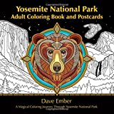 Yosemite National Park Adult Coloring Book: A Magical Coloring Journey Through Yosemite National Park