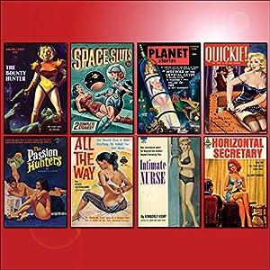 Pulp Fiction / Romane Buchcover Kühlschrankmagnete - Set aus 8 großen Kühlschrankmagnete No.1