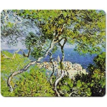 Claude Monet - Bordighera, 1884 Tappetino Per Mouse (23 x 19cm)