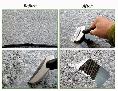 Joyoldelf--Raschietto-per-ghiaccio-neve-Remover-lavavetri-con-striscia-per-auto-parabrezza-e-Windows-il-colore-pu-variare