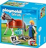 Playmobil 5533 - Röntgentierarzt Mit Appaloosa