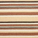 Fabulous Fabrics Mantelstoff Wollmix Ethno Streifen -