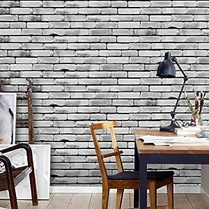 OHQ Fliesenaufkleber Küche Bad dekorieren PVC Fliesen überkleben Fliesen Folie für Küchenrückwand Wandtattoo abwaschbar cmeuropäischer Stil Eine rolle (A)