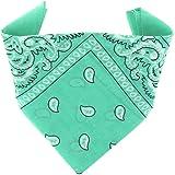 ...KARL LOVEN Bandane 100% cotone per donna uomo Bambini fazzoletto da collo bandana originale motivo paisley copricapo sciar