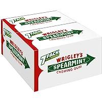 Wrigley's Spearmint Kaugummi | Minz-Geschmack | 14 Packungen (14 x 7 x 5 Streifen)