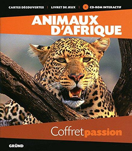 Coffret passion Animaux d'Afrique : Avec 1 Cd-Rom intéractif par Gründ