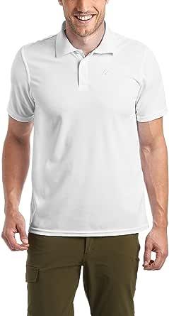 maier sports Ulrich shortsleeve shirt Gentlemen blue (Size: M) shortsleeve shirt