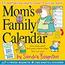 Mom's Family 17-Month 2017-2018 Calendar