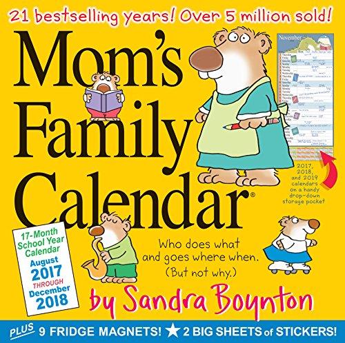 Mom\'s Family 17-Month 2017-2018 Calendar