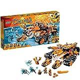 LEGO Legends Of Chima - Playthèmes - 70224 - Jeu De Construction - La Base Mobile De Combat