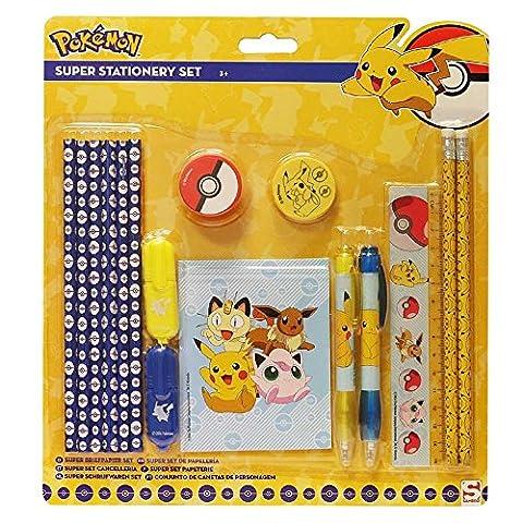 Pokemon Schreibset mit 16 Teilen