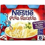 Nestlé p'tite recette parmentière de colin 2 x 200 g dès 8 mois - ( Prix Unitaire ) - Envoi Rapide Et Soignée
