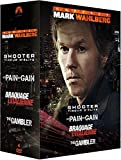 Coffret Mark Wahlberg : No Pain No Gain + The Gambler + Shooter + Braquage à l'italienne