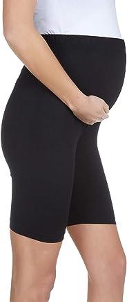 LuvmaBelly Maternity 8028 Pamuklu Hamile Şort Tayt