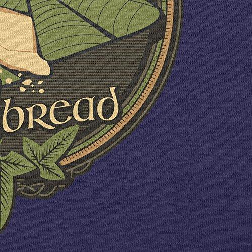 TEXLAB - Lembas the Elvish Waybread - Damen T-Shirt Navy
