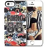 Puro IPC588FLAMINGO Etui pour iPhone 5/5S/SE Motif 88 Flamingo