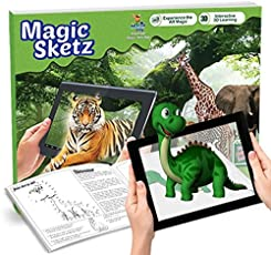 Augment Works Reality 3D Coloring Book Magic Joey Jungle Animals (Paperback)