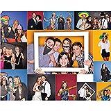 Veewon 40. Geburtstagsfeier Fotorequisiten Fotostand Requisiten Unisex-lustige 36pcs DIY Kit geeignet für seine oder ihre 40. Geburtstagsfeier Fotobooth Stütze - 4