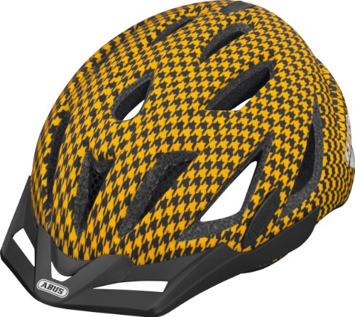ABUS Fahrradhelm Urban-I, orange wave, 61-65 cm, 58709-2