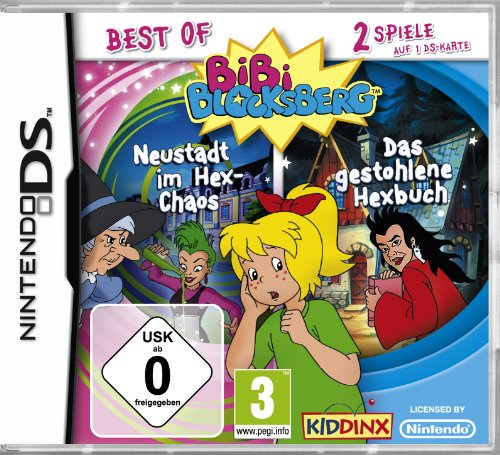 Bibi Blocksberg - Bundle [Software Pyramide] - [Nintendo DS] (Nintendo Ds Spiel-bundle)