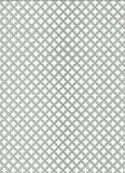 GAH-ALBERTS 466893 - Chapa perforada - cross-slot, aluminio anodizado color plata, 250 X 500 X 0,8 Mm