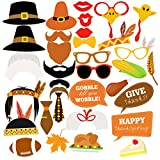 Tinksky Thanksgiving Photo Booth Props Kit Happy Thanksgiving - Best Reviews Guide