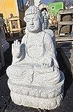 BUDDHA aus GRANIT Handarbeit 62 cm Granitfigur Steinfigur + Original Pflegeanleitung von Steinfigurenwelt