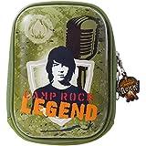 Disney dYCBCR1 arkas disney camp rock coque rigide avec fermeture éclair pour appareil photo/téléphone portable/ipod (vert)