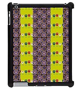 Printvisa 2D Printed Designer back case cover for Apple ipad 3- D4607