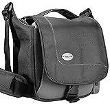 Baxxtar SportsBag - schwarz - Kameratasche zu Panasonic Lumix DC FZ82 DMC FZ2000 FZ1000 FZ300 FZ72 - Sony RX10 III IV HX400 - Canon SX70 HS SX540 HS