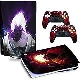 Daenery PlayStation 5 Skin Kit Adesivo Compatibile Ps5 Versione Disc Disk per Console e Controller Vinile Cover Antigraffio H